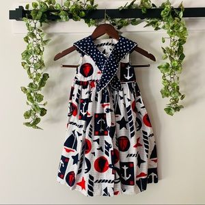 debut • vintage nautical toddler dress 4